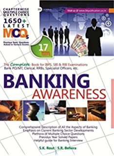 575627bbae73 Banking Awareness (Objective with Subjective - The Complete book for IBPS