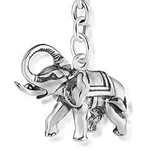 Amazon.com: sterll llavero amuleto de la suerte para de ...