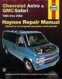 H24010 Haynes Chevrolet Astro GMC Safari Mini-vans 1985-2005 Auto Repair Manual