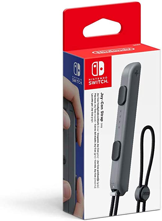 Nintendo - Joycon Strap, Color Gris Switch: Amazon.es: Videojuegos