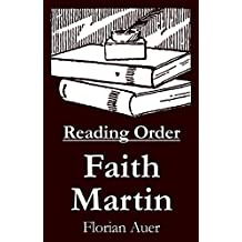 Faith Martin - Reading Order Book - Complete Series Companion Checklist