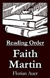 #1: Faith Martin - Reading Order Book - Complete Series Companion Checklist