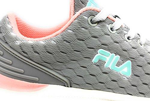 in sneakers donna grigio Scarpe 1010335 tela 3JW FILA rosa SqtwwExd1O