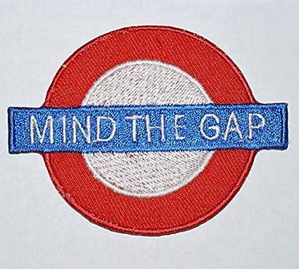 Parche bordado con el logotipo de London Tube Train Mind The ...
