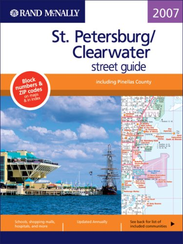 Rand Mcnally 2007 St Petersburg,/ Clearwater Street Guide (Rand McNally St. Petersburg/Clearwater Street - Fl Clearwater Street