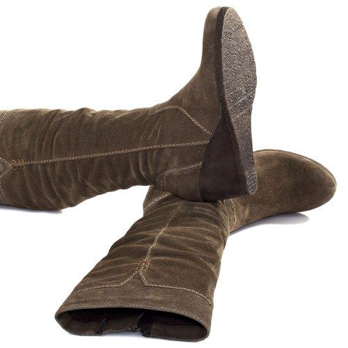 Tamaris Boot Heel Women's 1 Wedge 25620 21 Pepper awaSqOr
