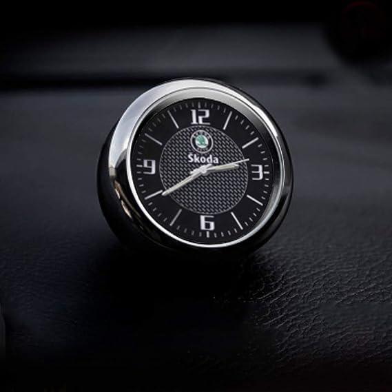 J Mosuya Auto Uhr Armaturenbrett Trim Clock Interior Zubehör Hohe Genauigkeit Quartz Luminous Dial Mit Vent Clip Weidaihnachtsgeschenk Auto