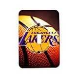 Lakers Basketball Apple Metal Light Switch Plate / Single Toggle Great Gift Idea Los Angeles