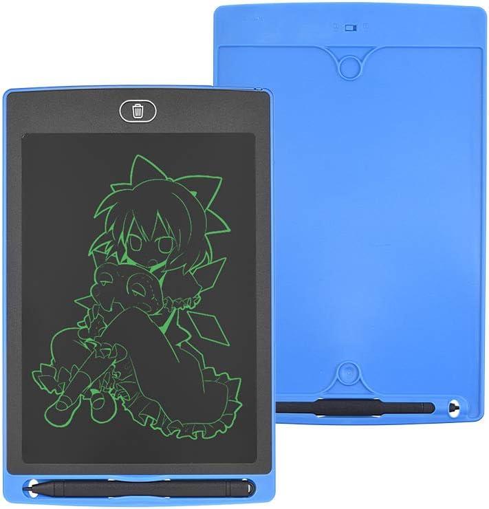 Leslaur /Écriture LCD /électronique peinture dessin tablette tableau de bord 8,5 pouces portable graphique conseil utilis/é pour les dessins brouillons enregistrements de bureau pour enfants et adultes