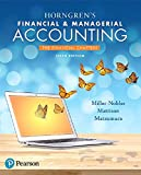 img - for Horngren's Financial & Managerial Accounting, The Financial Chapters Plus MyLab Accounting with Pearson eText -- Access Card Package (6th Edition) book / textbook / text book