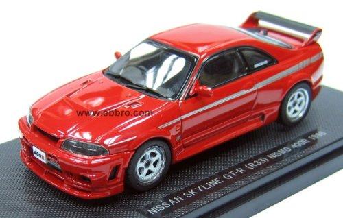 1/43 ニッサン スカイライン GT-R R33 ニスモ 400R 1996(レッド) 「Oldies」 43708