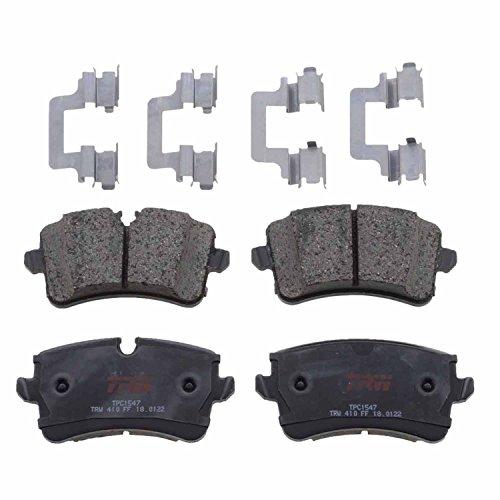 (TRW TPC1547 Premium Ceramic Rear Disc Brake Pad Set)