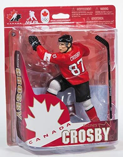 2014 McFarlane Sidney Crosby Team Canada Sochi Olympics Action Figure (Canada Team Crosby Mcfarlane)