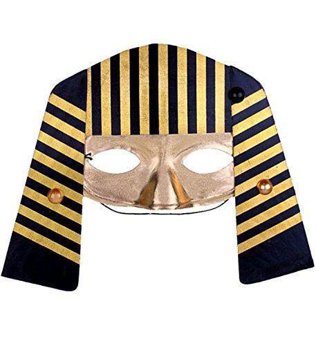 micrkrowen Halloween Horror Grimace Mask Egyptian Pharaoh Kamen