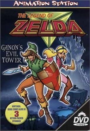 Legend Of Zelda Ganon S Evil Tower Dvd Region 1 Us Import