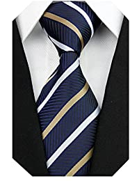 Men's Classic Silk Tie Woven Necktie Jacquard Neck Ties For Men