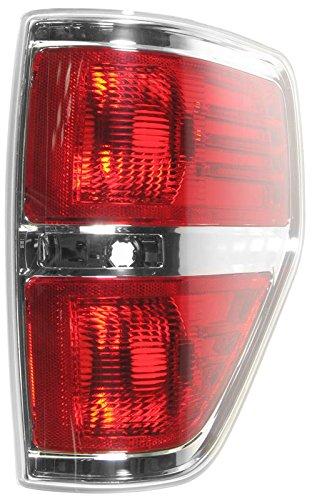 Taillamp Taillight Rear Brake Chrome Trim Passenger Right RH for F150 Styleside