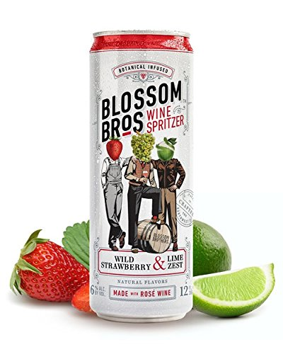 Blossom Brothers Wild Strawberry and Lime Zest