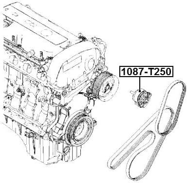 Pulley Idler For General Motors 96802494 96802494