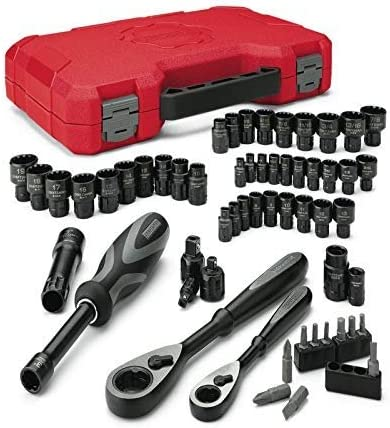 Craftsman 58 pc Universal max Axess Mechanics Tool Set (pulgadas/métricas): Amazon.es: Coche y moto