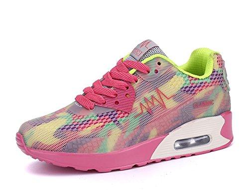 SITAILE Damen Turnschuhe Klassische Low Top Sportschuhe Trendfarben Runners Sneakers Laufschuhe