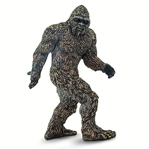 Bigfoot Costume Movie Quality (Safari Ltd. Mythical Realms - Bigfoot - Quality Construction from Phthalate, Lead and BPA Free Materials - for Ages 3 and)