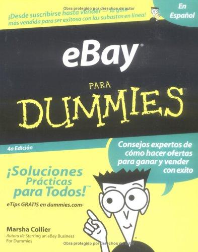 Ebay Para Dummies Spanish Edition Marsha Collier 9780764568176