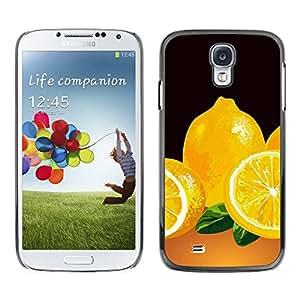 Smartphone Rígido Protección única Imagen Carcasa Funda Tapa Skin Case Para Samsung Galaxy S4 I9500 Minimalist Lemon Painting / STRONG