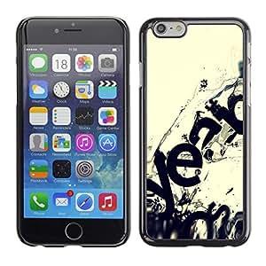 TECHCASE**Cubierta de la caja de protección la piel dura para el ** Apple iPhone 6 Plus 5.5 ** Modern Art Ecosystem Wave Destruction