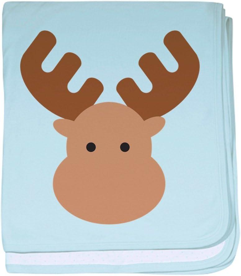CafePress Moose baby blanket Super Soft Newborn Swaddle Baby Blanket