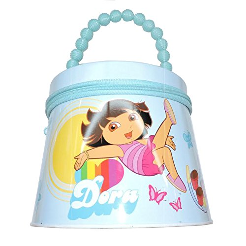 - Dora the Explorer Round Tin Box Carry All Purse