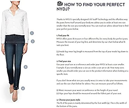 NYDJ Womens Marilyn Straight Leg Denim Jeans