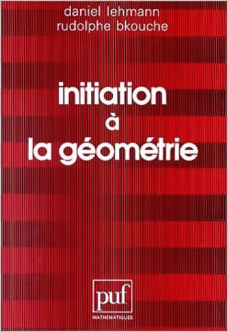 Initiation géométrie
