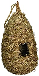 Prevue Pet Products BPV1174 Grass Handwoven Bird Nest