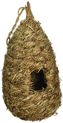 Prevue Pet Products BPV1174 Grass Handwoven Bird Nest