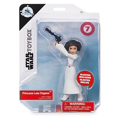 Star Wars USA Disney Store limited toy box Action Figures Princess Leia Organa / STAR WARS 2018 USA Disney Store EXCLUSIVE TOYBOX # 7 PRINCESS LEIA ORGANA [parallel import goods] latest movie