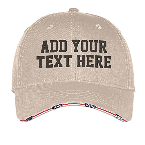 Custom Embroidered Baseball Golf Hat - ADD Text - Personalized Monogrammed Cap]()