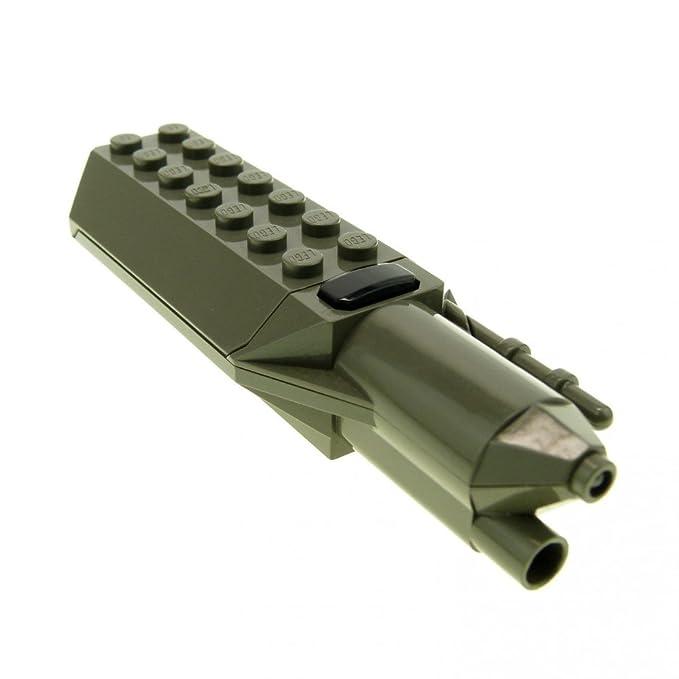 1 x Lego Electric Light Modul alt-dunkel grau Laser Waffe geprüft 30346c01