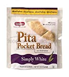 Kangaroo Pita Pocket, Precut White, 12 Ounce (Pack of 12)