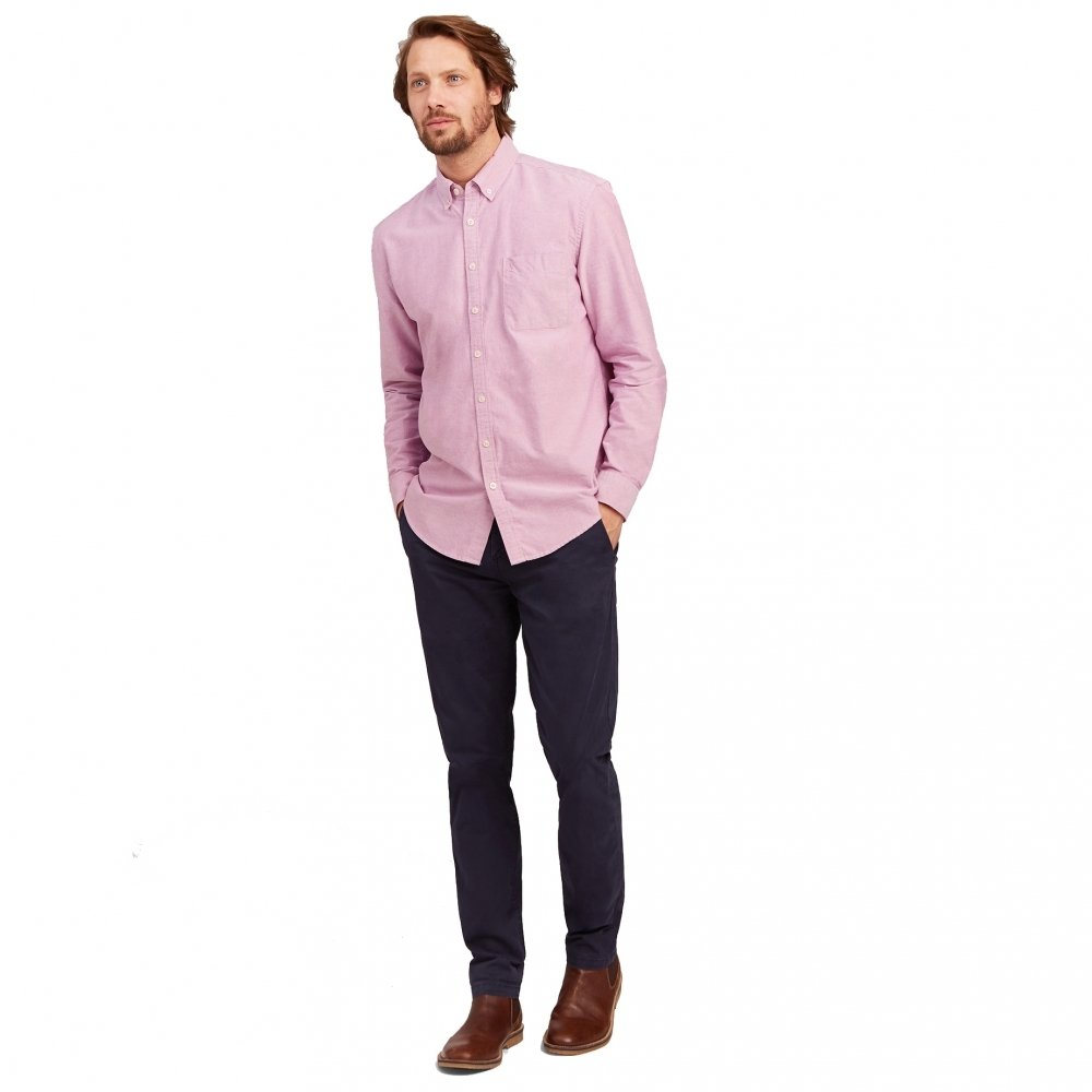 Joules Long Sleeve Classic Fit Laundered Oxford Shirt Z