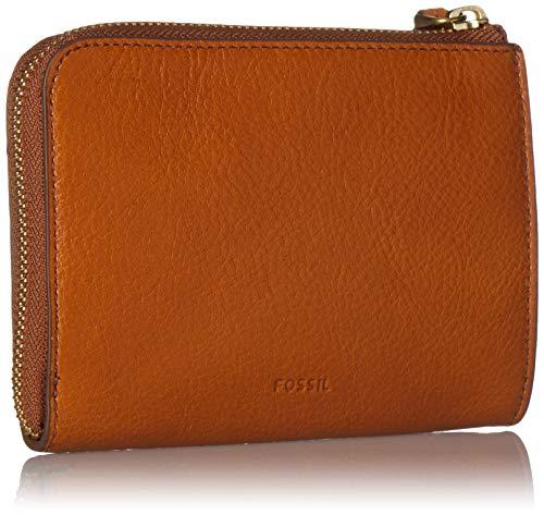 51639tZyyyL - Fossil RFID Passport Zip Around Tan