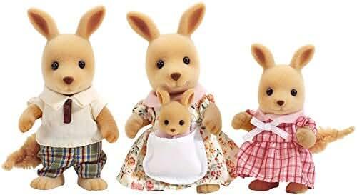 Calico Critters Hopper Kangaroo Family Set