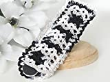 Best File For Nail Cares - Nail File Pouch by StitchnTyme (Black & White) Review