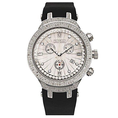 Joe Rodeo JJM95 Master Man Diamond Watch, White Dial