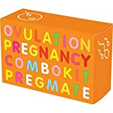 PREGMATE 20 Ovulation and 5 Pregnancy Test Strips LH Surge OPK Predictor Combo Kit (20 LH + 5 HCG)