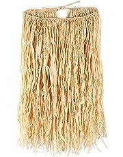 Beistle Adult Raffia Hula Skirt, 32-Inch Width by 30-Inch Length