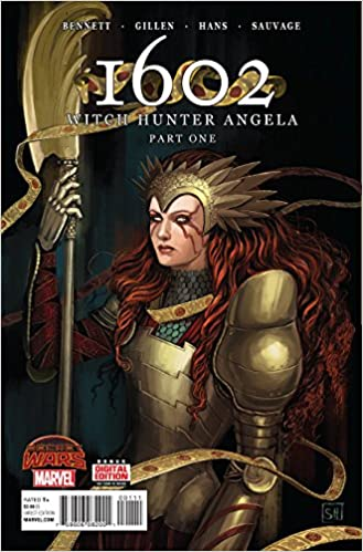 1602 witch hunter angela 1 comic book amazon com books