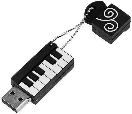 Emily - Teclado USB con diseño de Dibujos Animados, USB 2.0 ...
