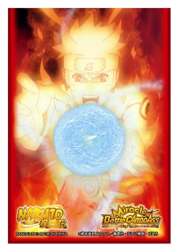 Carddass sleeve NARUTO - Naruto - Naruto Shippuden (japan import) by Bandai (Card Naruto Sleeves)