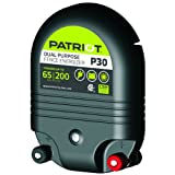 Patriot P30 Dual Purpose Electric Fence Energizer, 3.0 Joule